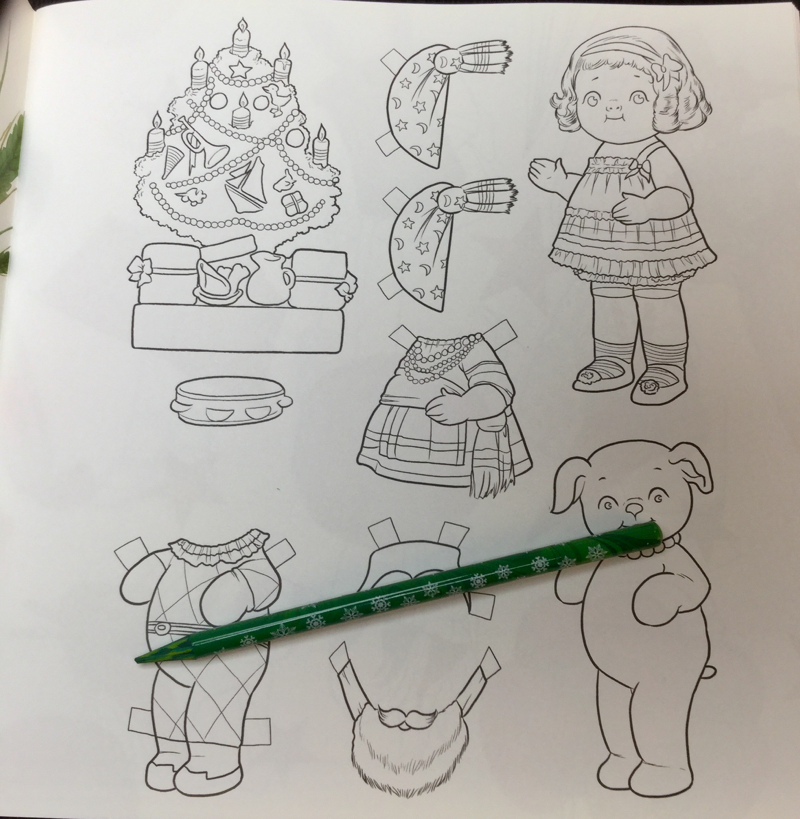 Dingles Dolly Coloring Book 17 - Dingles Dolly Coloring Book Review