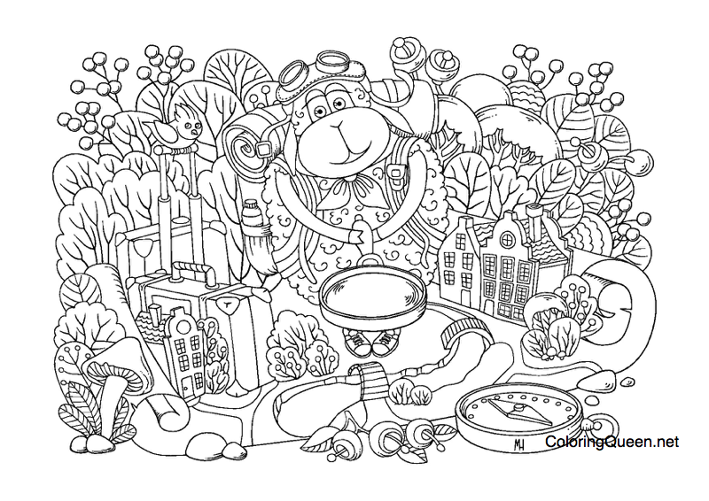 TheSheep coloring book review - Sheep Coloring Book Review