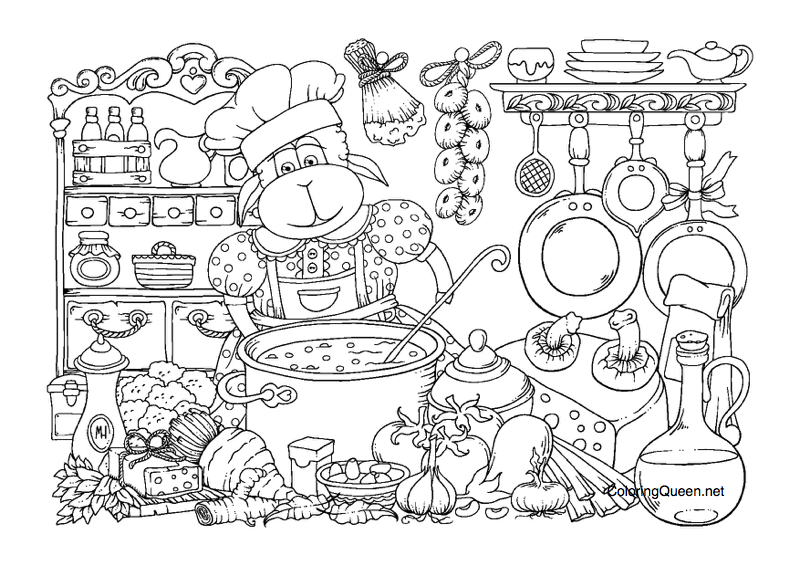 TheSheep coloring book review 10 - Sheep Coloring Book Review