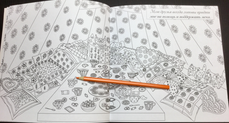 The Magic Room Russian Coloring Book  61 - Natalia Pokatilova: The Magic Room Coloring Book Review