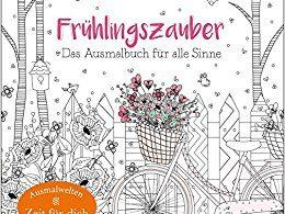 Frühlingszauber: Das Ausmalbuch für alle Sinne Coloring Book cover