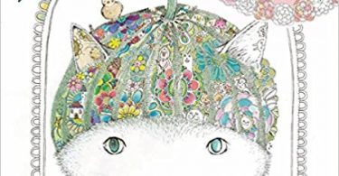 strangeworldofcats 375x195 - Animals Of The Flower Time  Coloring Book Review