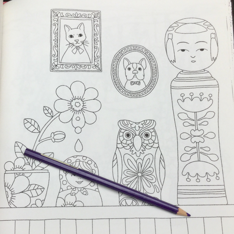 animals flowers coloring book 18 - Animals Of The Flower Time  Coloring Book Review