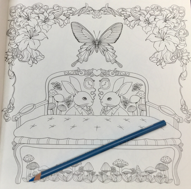remember alice coloring book review 28 - Invitation to Alice in Wonderland: Remember Alice Coloring Book Review