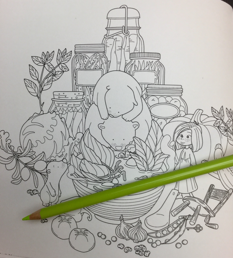 once upon a time coloring book review  17 - Once Upon A Time Coloring Book Review