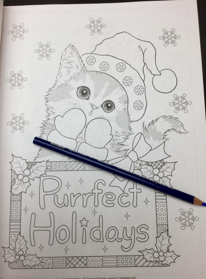 Santas Kitty Helpers Coloring Book Review