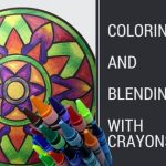 coloringandblending 150x150 - DIY Blender Refill Tutorial