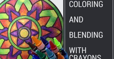 coloringandblending 375x195 - Beautiful Birds and Treetop Treasures Coloring Book Review