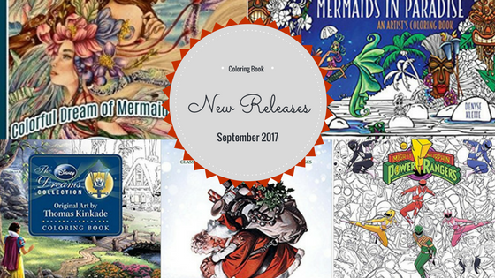 coloring book new releases September 2017