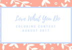 Love What You Do GiveawayJuly 2017 145x100 - Love What You Do Monthly Giveaway - August 2017