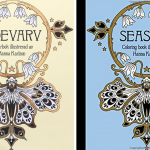 seasons coloring book comparison tidevarv 150x150 - Twilight Garden Coloring Book (aka Blomster Mandala)