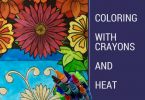 coloring with crayons and heat 145x100 - Coloring with Crayons and Heat