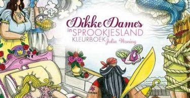 dikke dames sprookjesland 375x195 - Spectrum Noir Colorista Coloring Book Review
