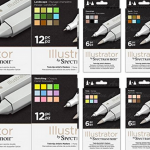 Spectrum Noir Illustrator Markers Review 150x150 - The Time Garden A5 Notebook - Daria Song