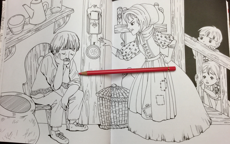hansel and gretel coloring book 27 - Hansel and Gretel: An Amazing Colouring Book Review