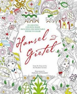Hansel and Gretel: An Amazing Colouring Book Review