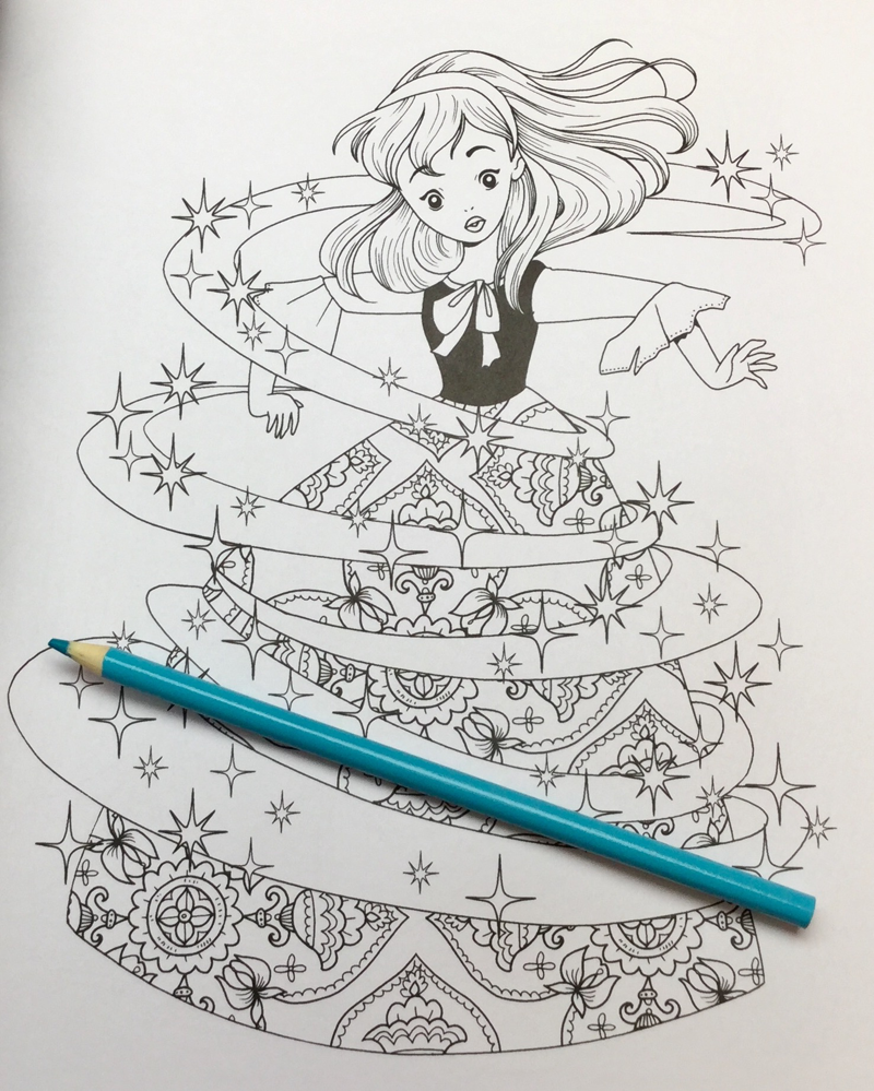 Cinderella amazing colouring book18 - Cinderella:  An Amazing Coloring Book Review