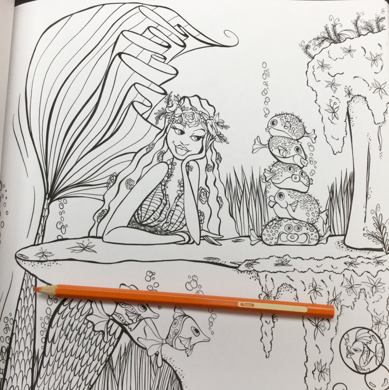 mermaids in paradise coloring book Review 27 - Mermaids in Paradise Coloring Book Review