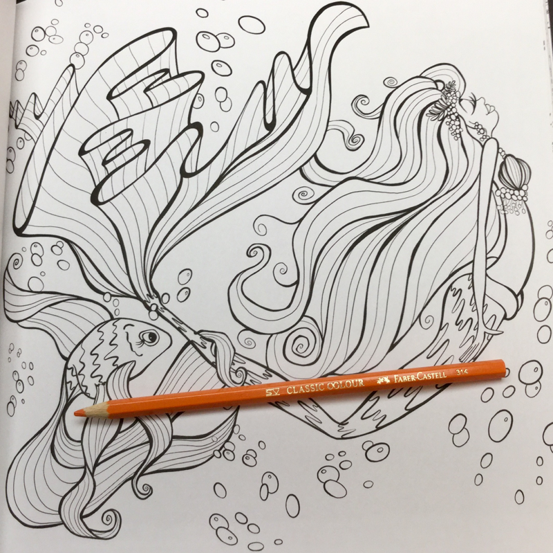 mermaids in paradise coloring book Review 31 - Mermaids in Paradise Coloring Book Review