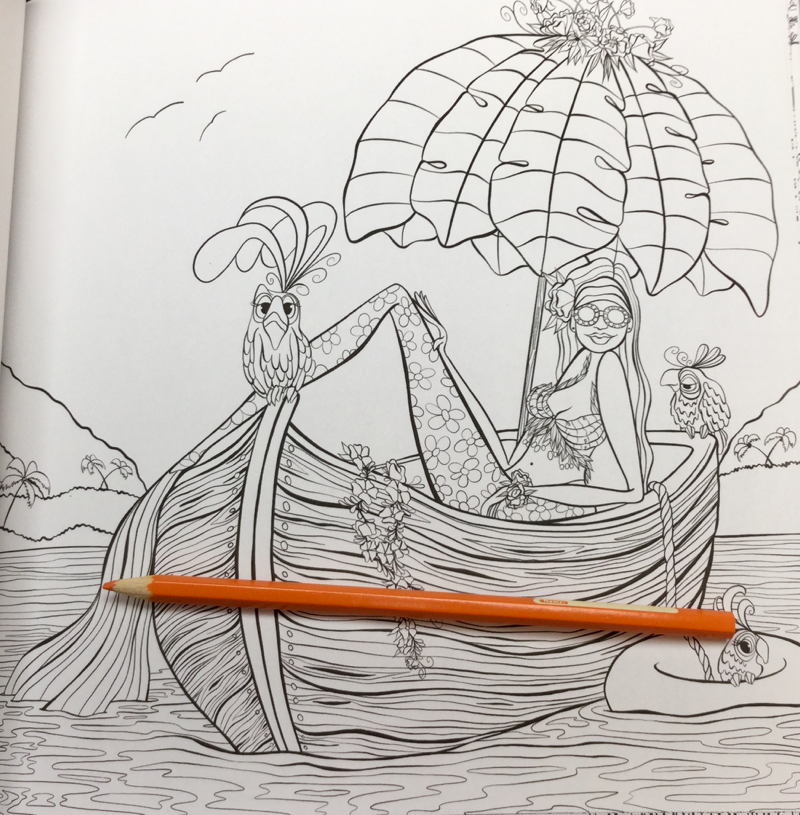 mermaids in paradise coloring book Review 35 - Mermaids in Paradise Coloring Book Review
