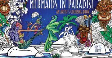 mermaids in paradise coloring book 375x195 - Spectrum Noir Colour Blend Pencils