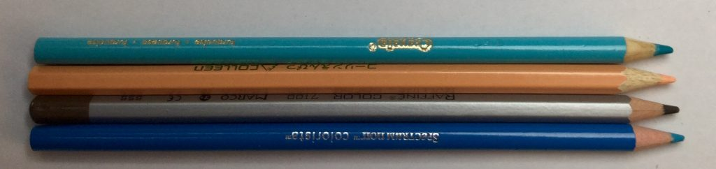 Spectrum Noir colorista pencils compared to other brands