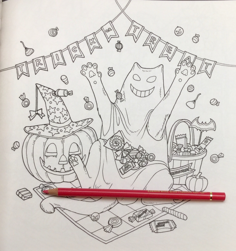Cat Coloring Therapy Book Review