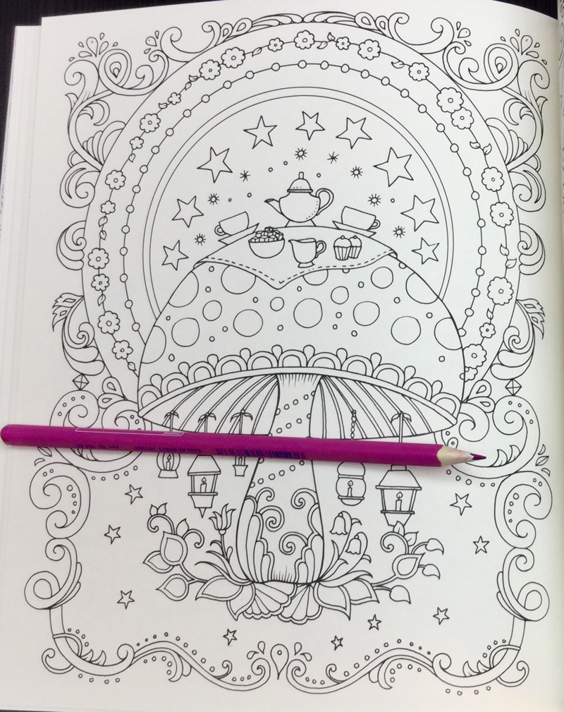 Ivy and the Inky Butterfly Coloring Book Review | Coloring Queen