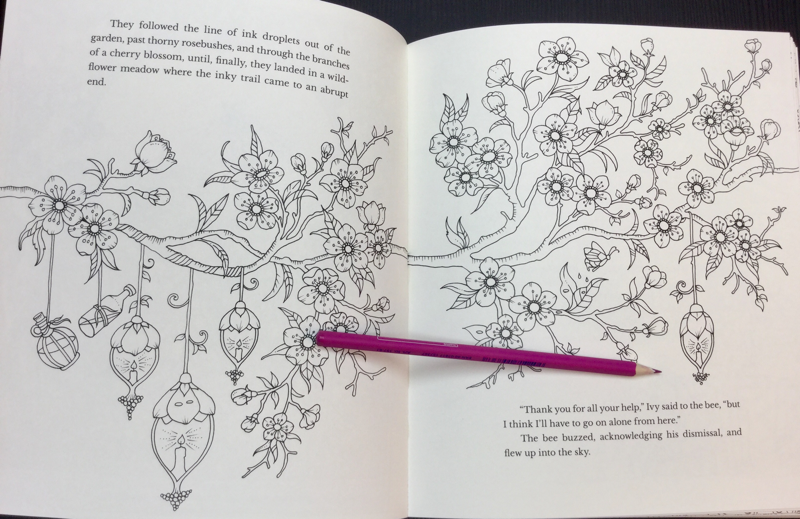 Minimal Line Art Near The Spine Of Book Is A Consistent Theme In Ivy And