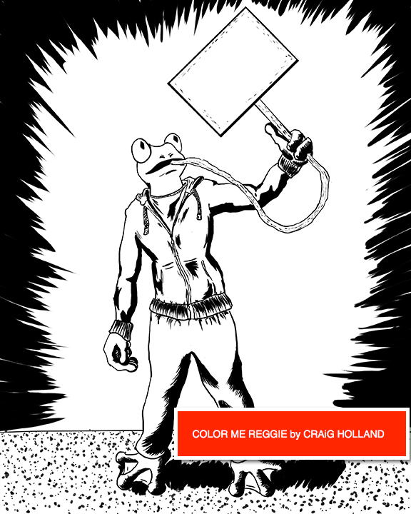 color me reggie coloring book - Craig Holland