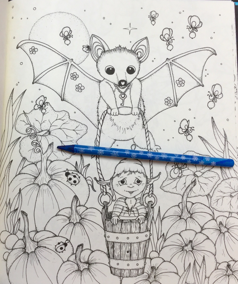 enderful Enchantments Coloring Book Review 29 - Tenderful Enchantments Coloring Book Review