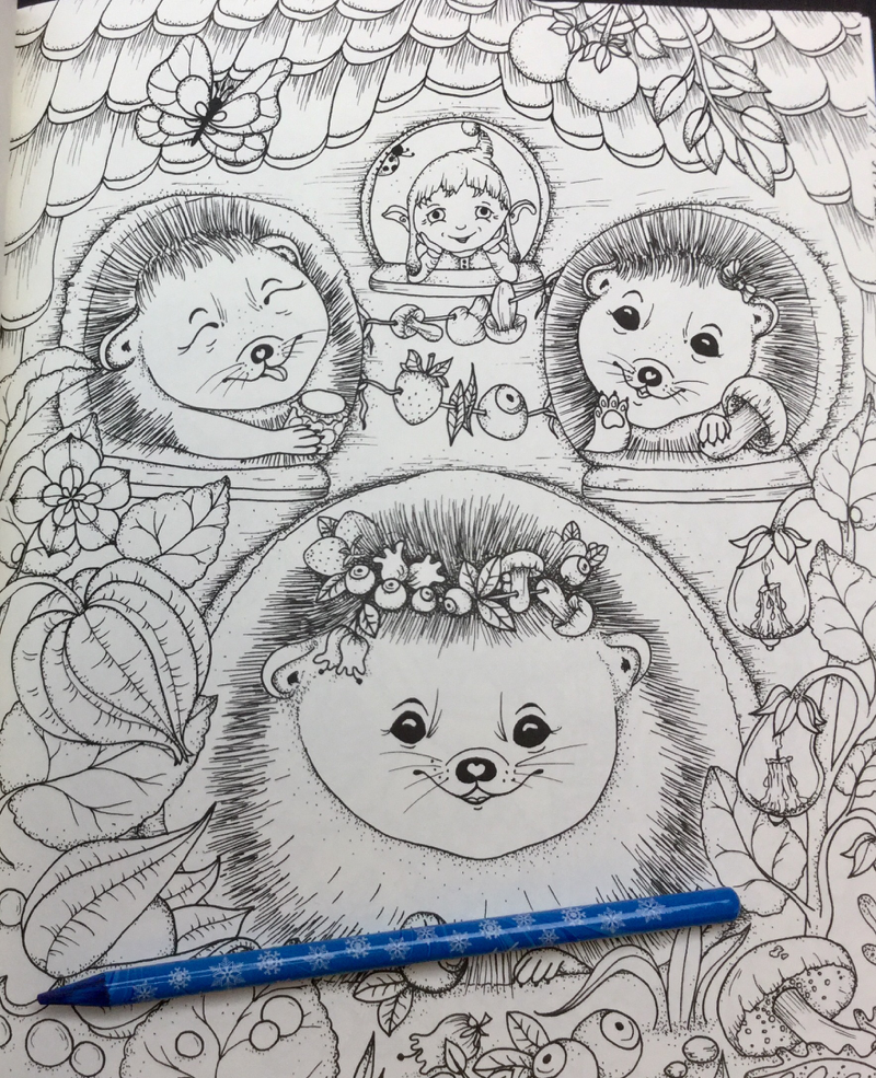 enderful Enchantments Coloring Book Review 31 - Tenderful Enchantments Coloring Book Review