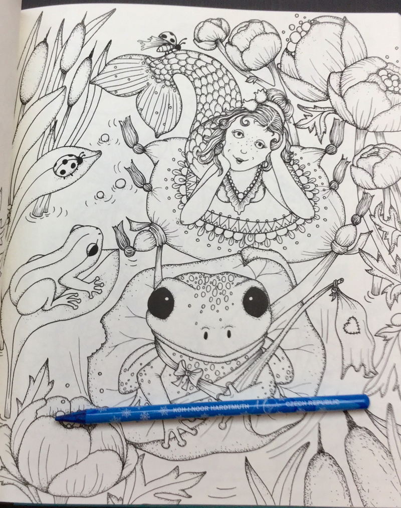enderful Enchantments Coloring Book Review18 - Tenderful Enchantments Coloring Book Review