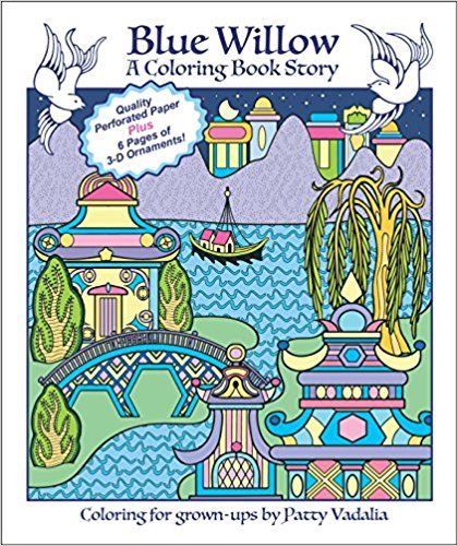Blue Willow - A Coloring Book Story