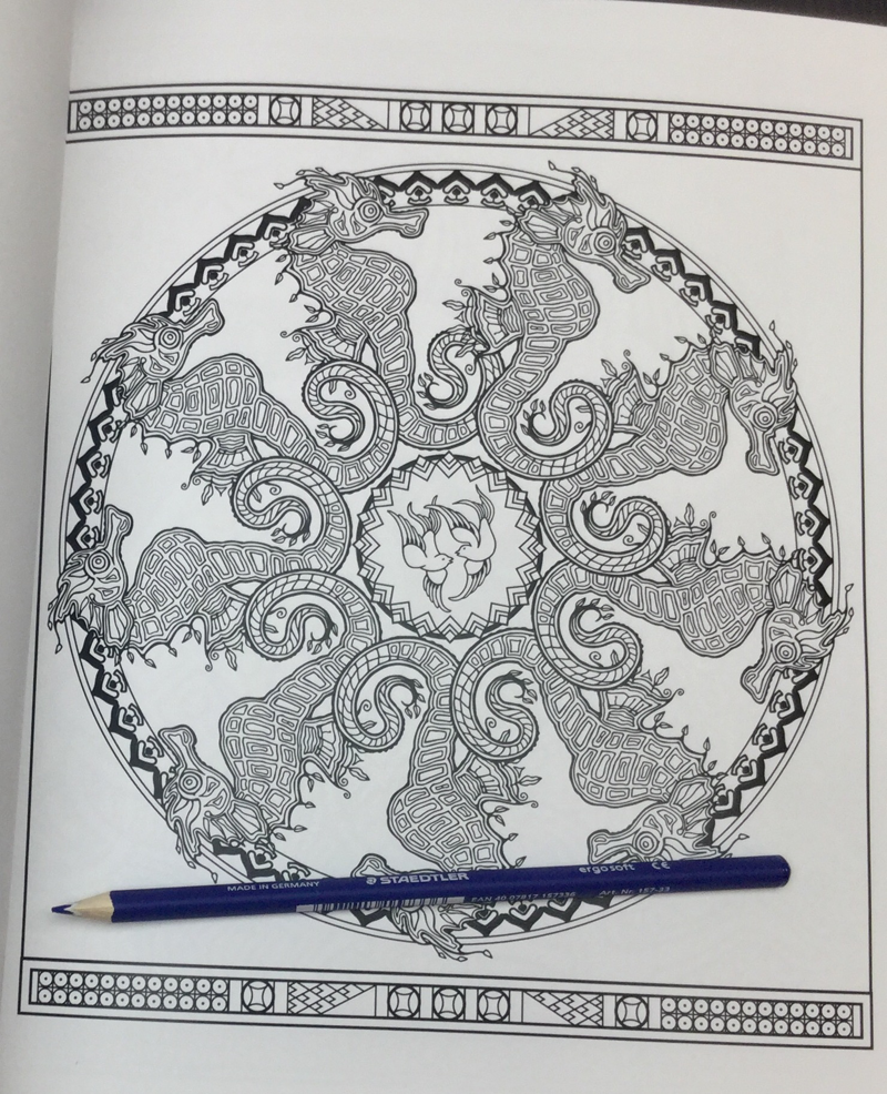 blue willow coloring book 31 - Blue Willow - A Coloring Book Story Coloring Book Review