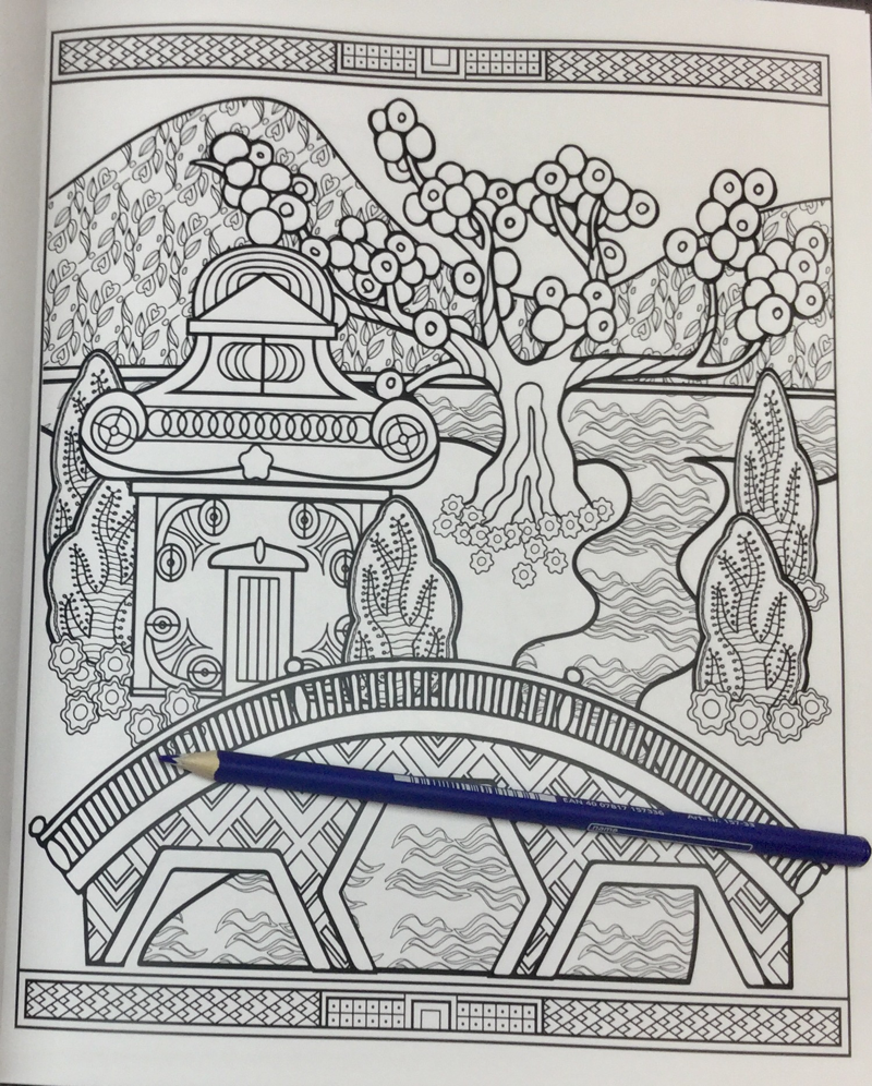 blue willow coloring book 21 - Blue Willow - A Coloring Book Story Coloring Book Review