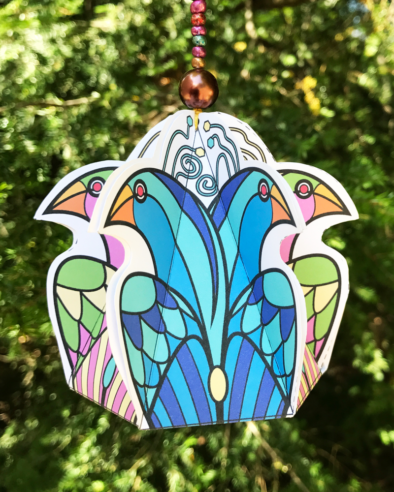 Birds Of A Feather ornament Patty Vadalia - Interview with Patty Vadalia
