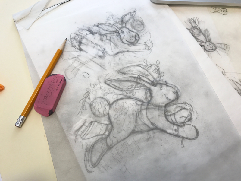 Sketching out an idea Patty Vadalia - Interview with Patty Vadalia