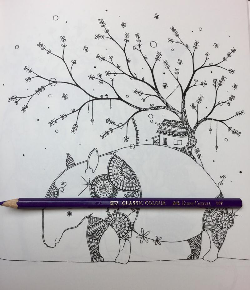 Fantastic Zoo Coloring Book Review | Coloring Queen