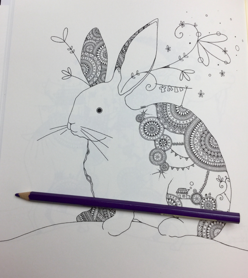 Fantastic Zoo Coloring Book Review | Coloring Queen