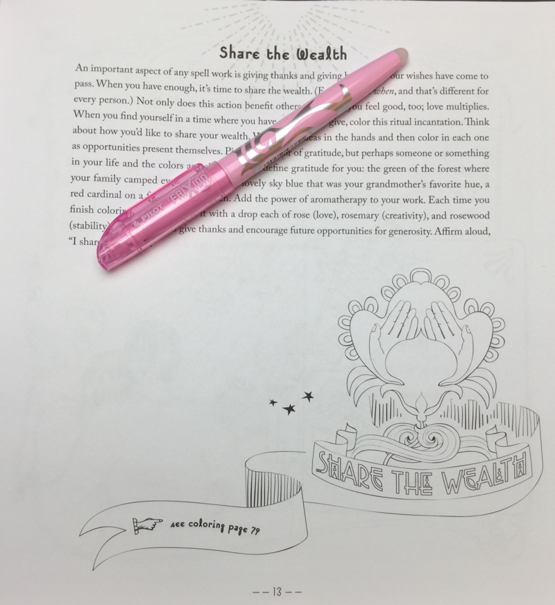 color and conjure coloring book review 27 - Color and Conjure Coloring Book Review