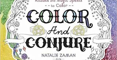 colorandconjure 375x195 - Enchanted Fairies Coloring Book Review