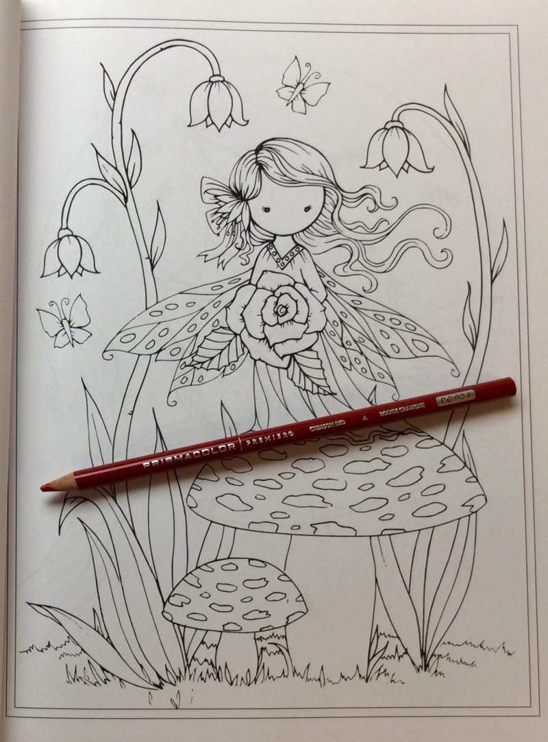 whimsical world coloring book review