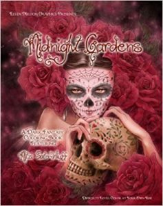 Midnight Gardens Coloring Book Review
