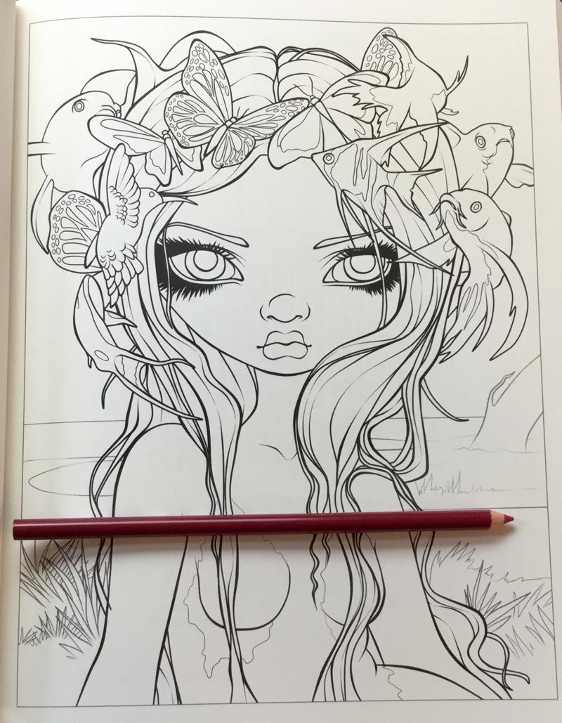 Mermaids Coloring Book An Aquatic Art Adventure Review