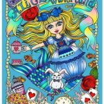 alice in waterland 150x150 - Enchanted Fairies Coloring Book Review