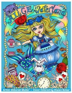 Alice In Waterland Coloring Book Review