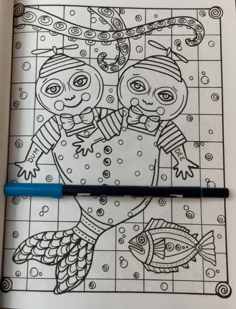 alice in waterland coloring book reviews  4180 783x1024 - Alice In Waterland Coloring Book Review