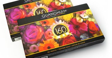 guanghui oil pencils 375x195 - Alice In Waterland Coloring Book Review