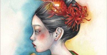 japanesegirlscoloringbookikuko 375x195 - Surreal Fantasy Coloring Book Review